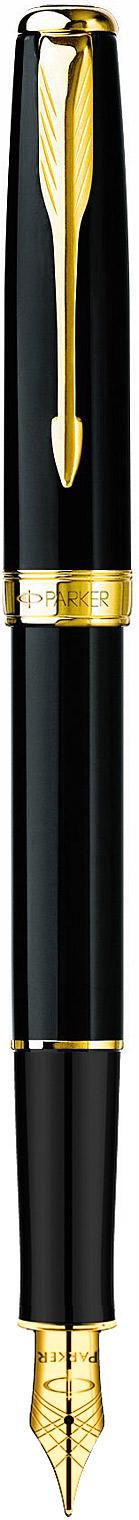 Descriere Stilou, PARKER Sonnet Laquer Deep Black GT