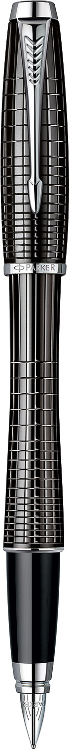 Descriere Stilou, PARKER Urban Premium Ebony Metal Chiselled CT