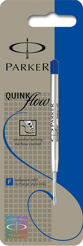 Descriere Rezerva pix, 0.7mm, albastru, PARKER Quink Flow