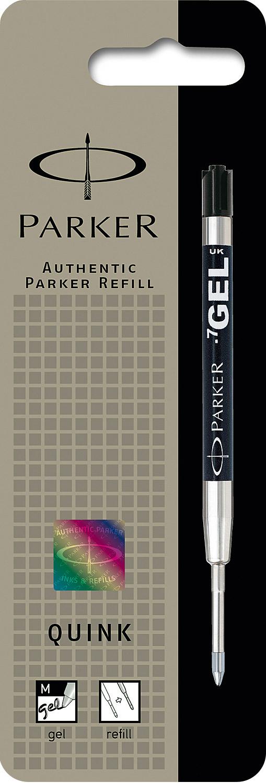 Descriere Rezerva pix cu gel, 0.7mm, negru, PARKER