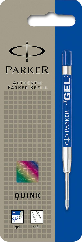 Descriere Rezerva pix cu gel, 0.7mm, albastru, PARKER