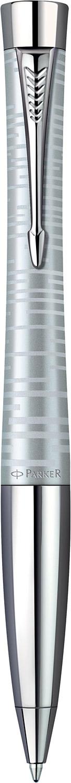 Descriere Pix, PARKER Urban Premium Vacumatic Silver Blue Pearl CT