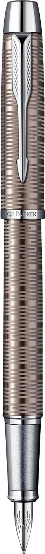 Descriere Stilou, PARKER IM Premium Vacumatic Brown Shadow CT