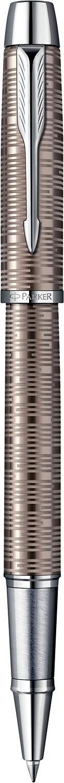 Descriere Roller, PARKER IM Premium Vacumatic Brown Shadow CT