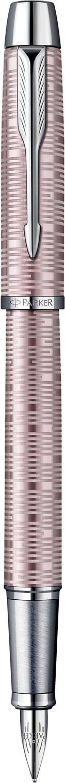 Descriere Stilou, PARKER IM Premium Vacumatic Pink Pearl CT