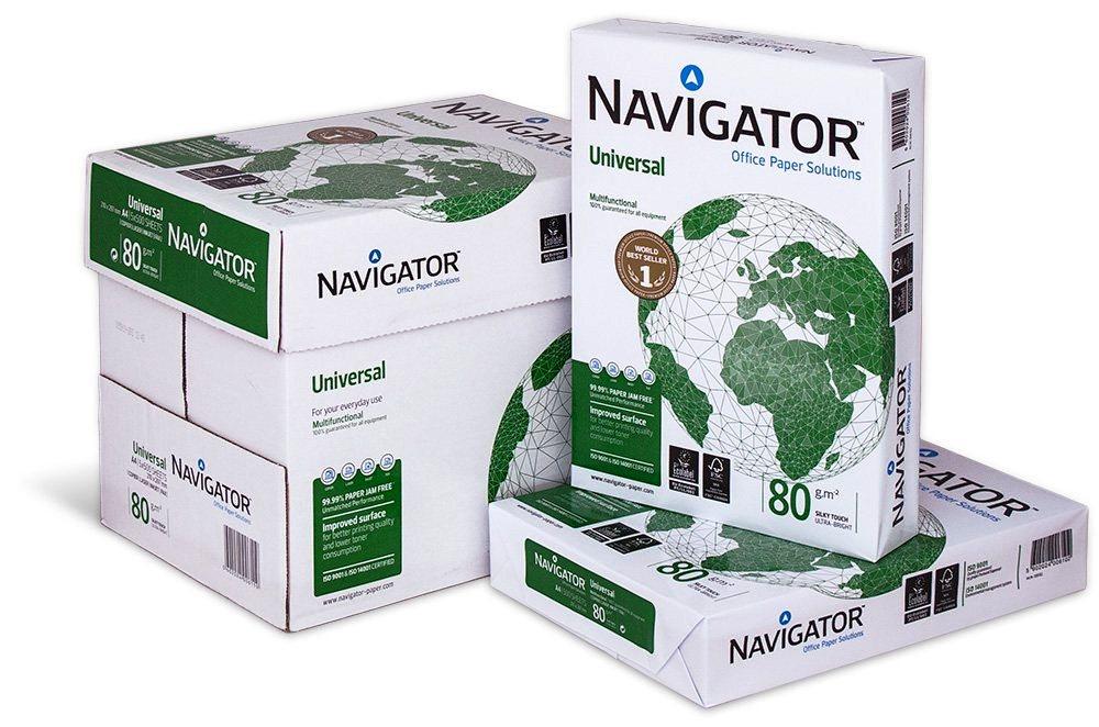 Descriere Hartie A4, 80 g/mp, 500 coli/top, NAVIGATOR Universal