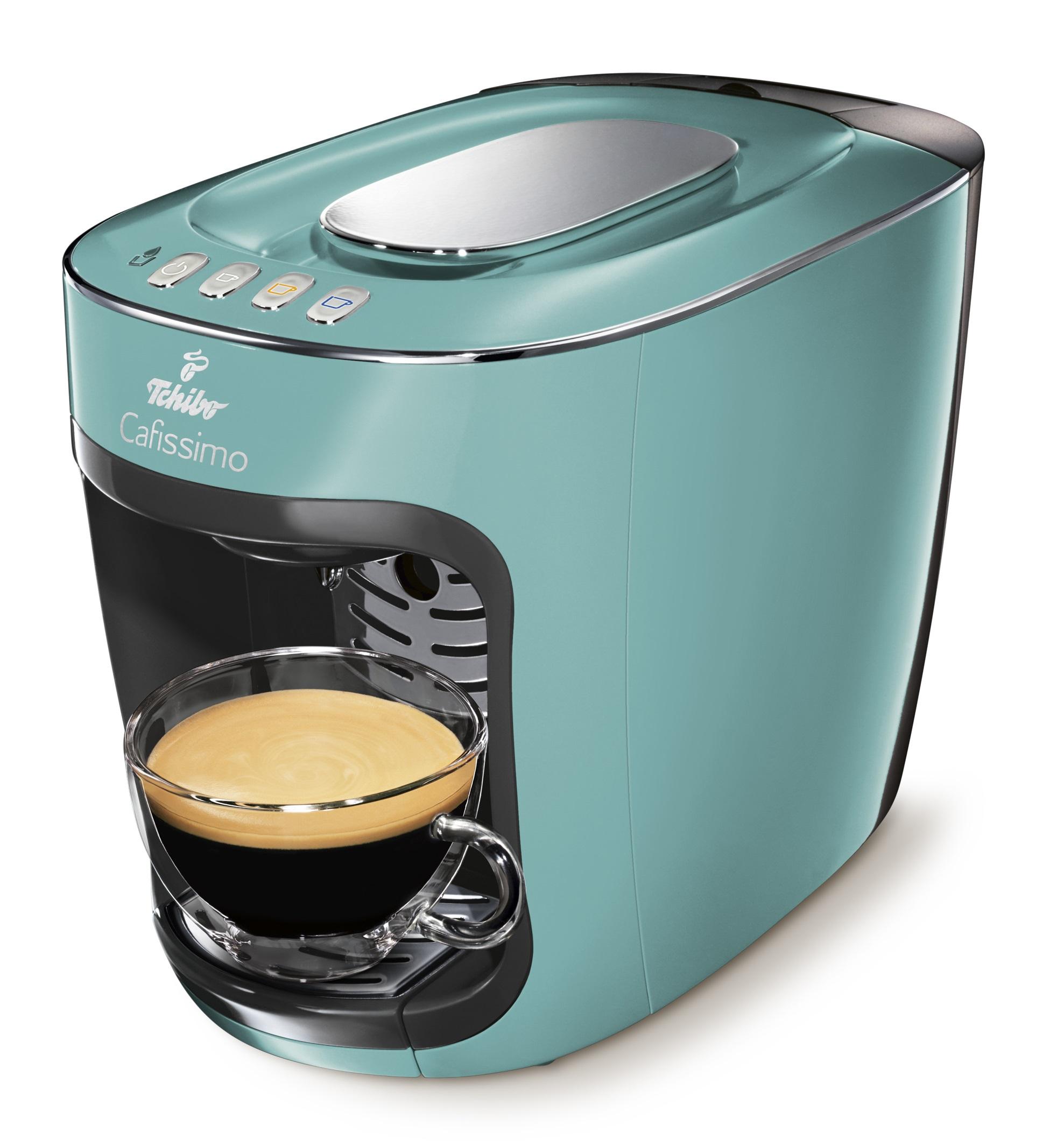 Descriere Aparat de cafea, 650ml, TCHIBO Cafissimo MINI Blazing Mint
