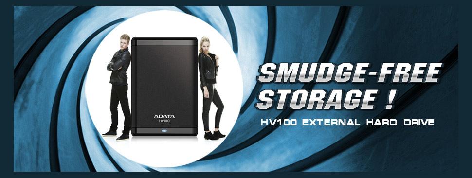 Descriere Hard disk extern ADATA Classic HV100 2TB 2.5 inch USB 3.0 black