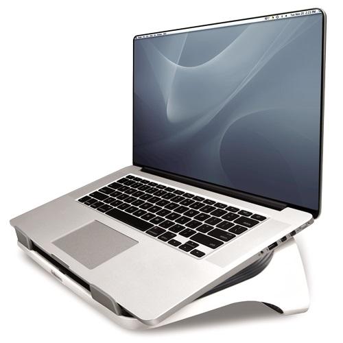 Descriere Suport pentru laptop, alb, FELLOWES I-Spire
