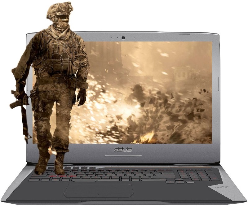 Descriere Laptop ASUS ROG G752VL, Intel Core i7-6700HQ, 17.3'' FHD IPS, 24GB, 1TB+256GB SSD, GeForce GTX 965M 2GB, Win 10