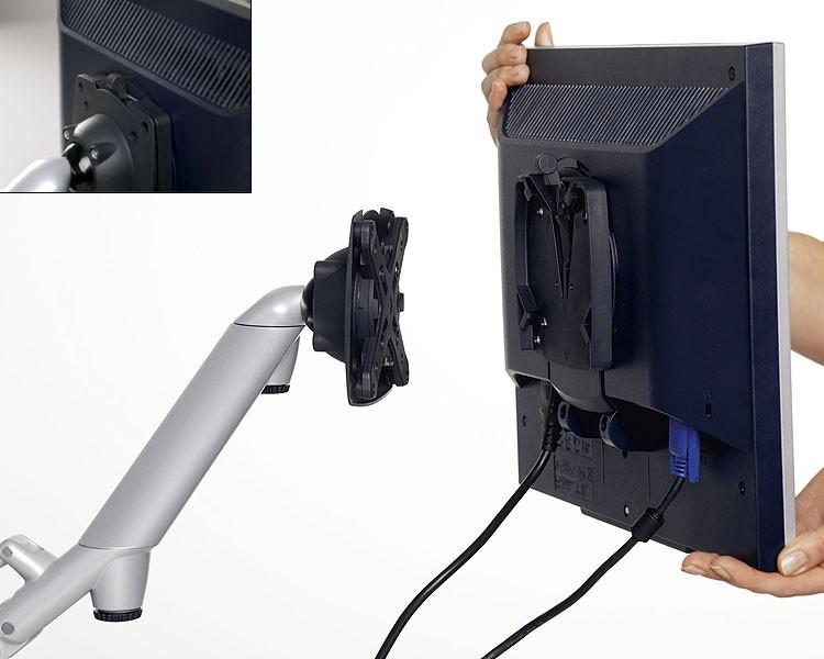 Descriere Suport pentru monitor, ergonomic, NOVUS LiftTech Arm 2