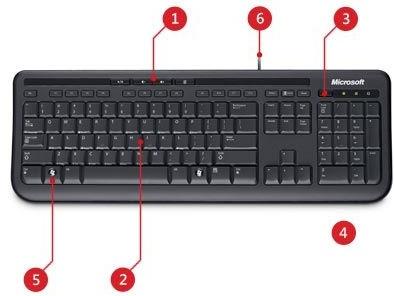 Descriere Tastatura MICROSOFT Wired Keyboard 600