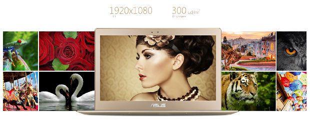 Descriere Ultrabook ASUS Zenbook UX303UA, Intel Core i5-6200U, 13.3'' FHD, 8GB, 128GB SSD, Win 10, Rose