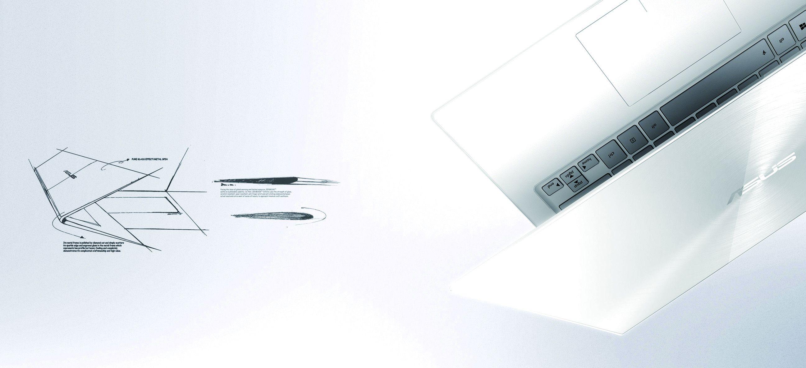 Descriere Ultrabook ASUS Zenbook UX301LA, Intel Core i7-5500U, 13.3'' QHD Touch, 8GB, 512GB SSD, Win 10 Pro, Blue