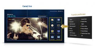 "Descriere Monitor LED SAMSUNG 32"", HD, DVB-T/ C, HDMI, CI slot, Scart, Component, Negru, HG32ED450SWXEN"