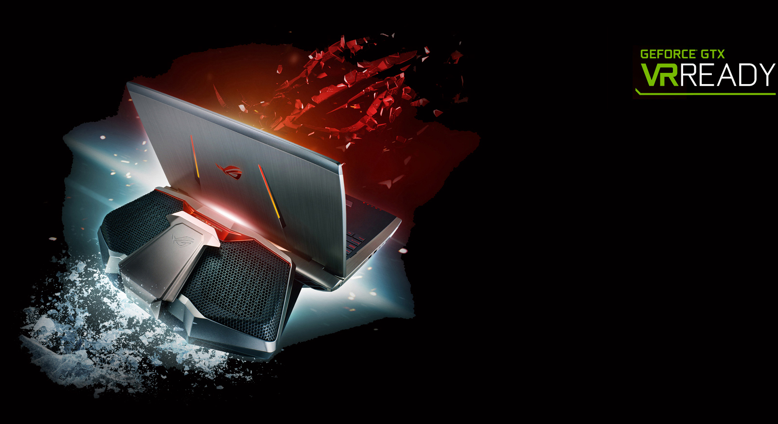 "Descriere Laptop ASUS ROG GX700VO-GC009T 17.3"" FHD, Intel® Core™ i7-6820HK pana la 3.6GHz, 32GB, 2 x 256GB SSD, nVIDIA GeForce GTX 980 8GB, Windows 10"