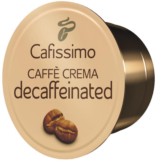 Descriere Capsule cafea, 10 capsule/cutie, Caffe Crema, TCHIBO Decaffeinated