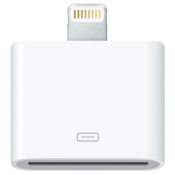 Descriere Adaptor APPLE Lightning to 30-pin, White