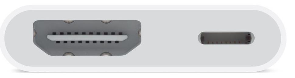 Descriere Adaptor Lightning Digital AV (HDMI) APPLE md826zm/a