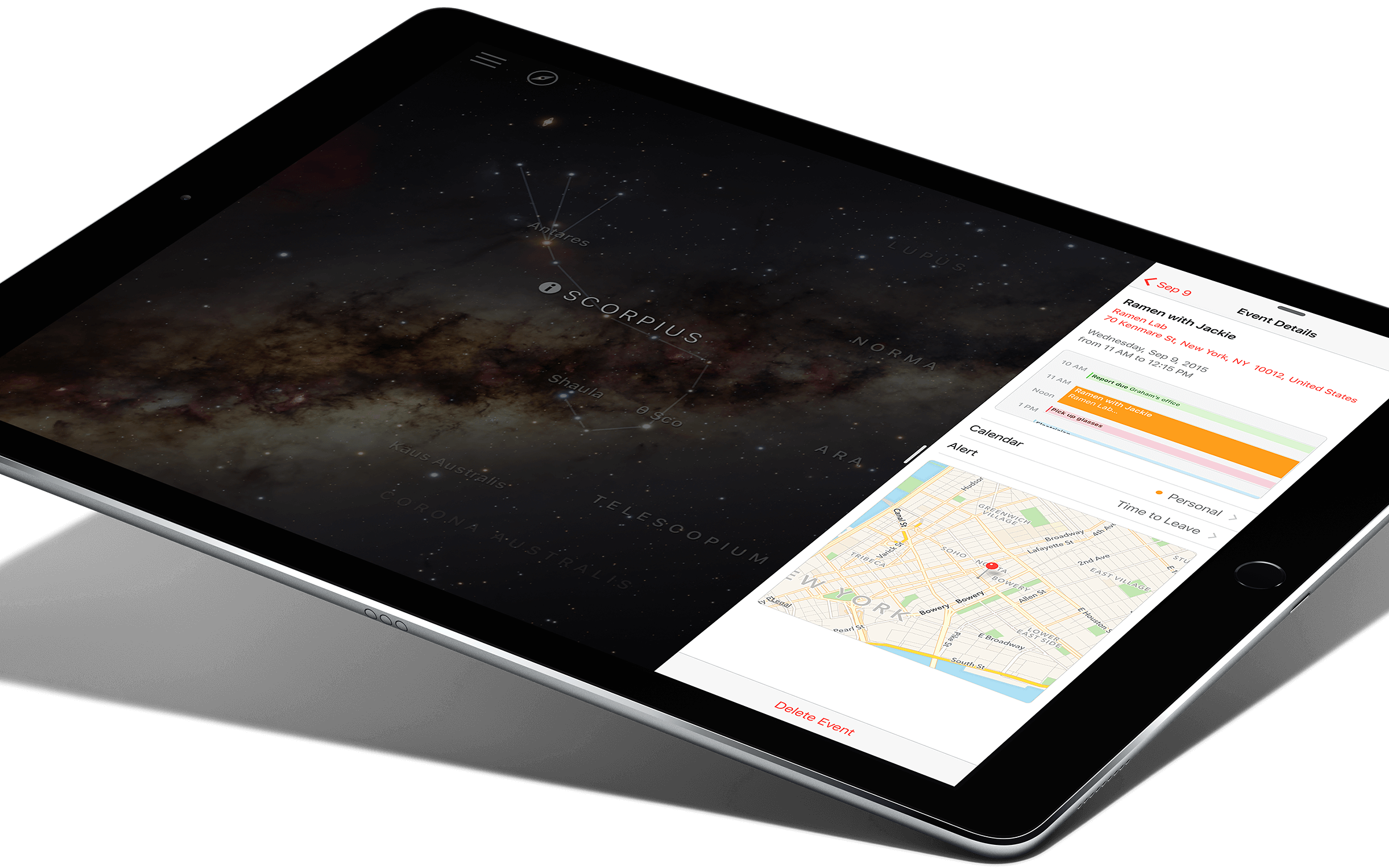 "Descriere APPLE iPad Pro Wi-Fi + 4G 128GB Ecran Retina 12.9"", A9X, Gold"