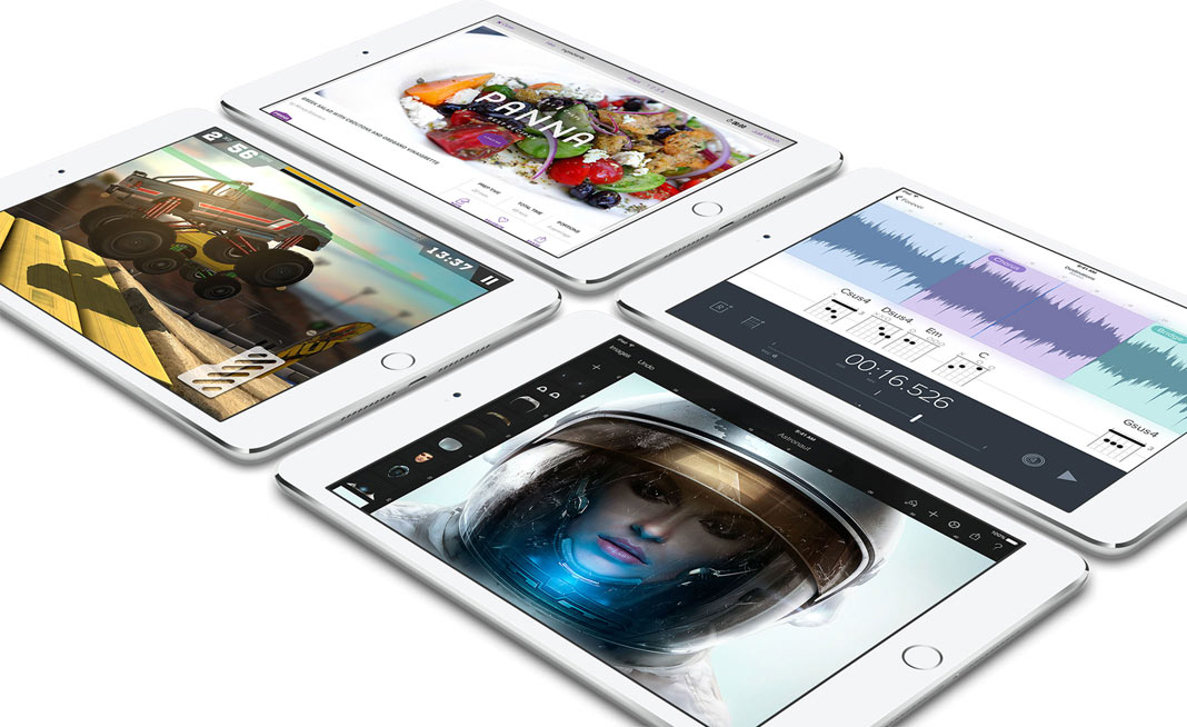 "Descriere APPLE iPad mini 4 128GB cu Wi-Fi, Dual Core A8, Ecran Retina 7.9"", Silver"