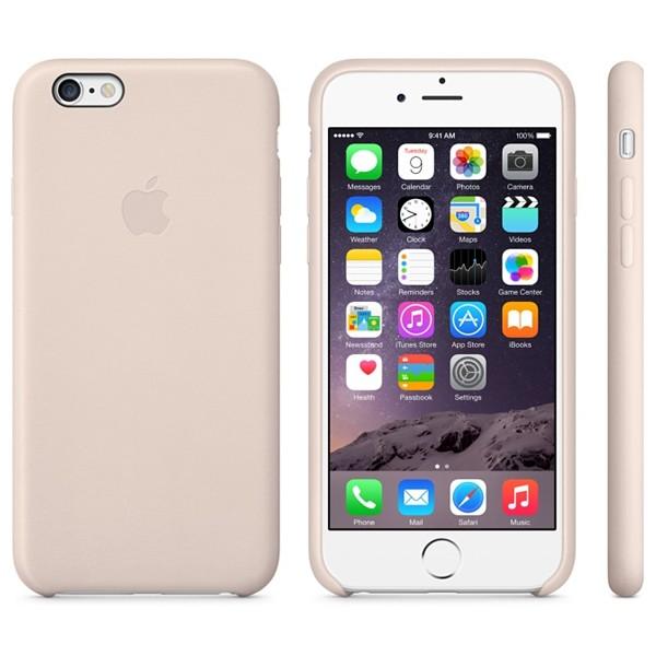 Descriere Carcasa din piele pentru iPhone 6, APPLE mgr52zm/a, Soft Pink