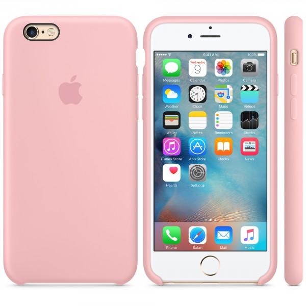 Descriere Husa de protectie APPLE pentru iPhone 6s, Silicon, Pink