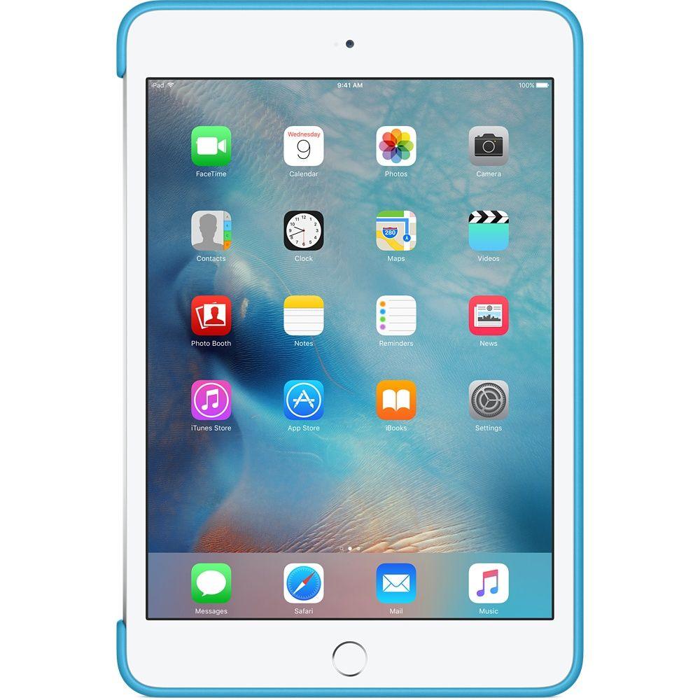 Descriere Husa APPLE Silicone Case pentru iPad Mini 4, Blue
