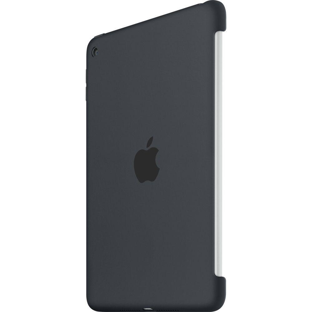 Descriere Husa APPLE Silicone Case pentru iPad Mini 4, Charcoal Grey
