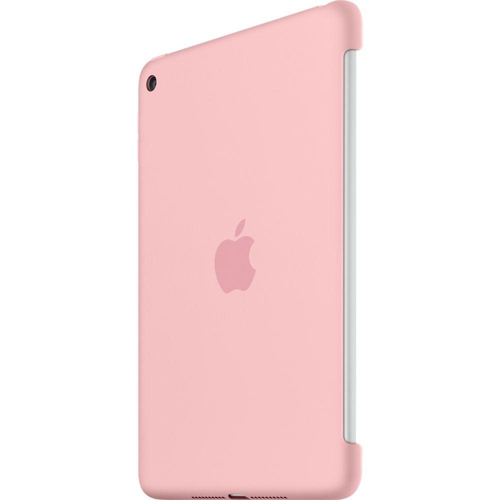 Descriere Husa APPLE Silicone Case pentru iPad Mini 4, Pink