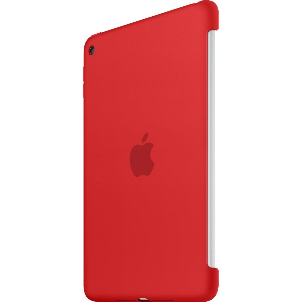Descriere Husa APPLE Silicone Case pentru iPad Mini 4, Red