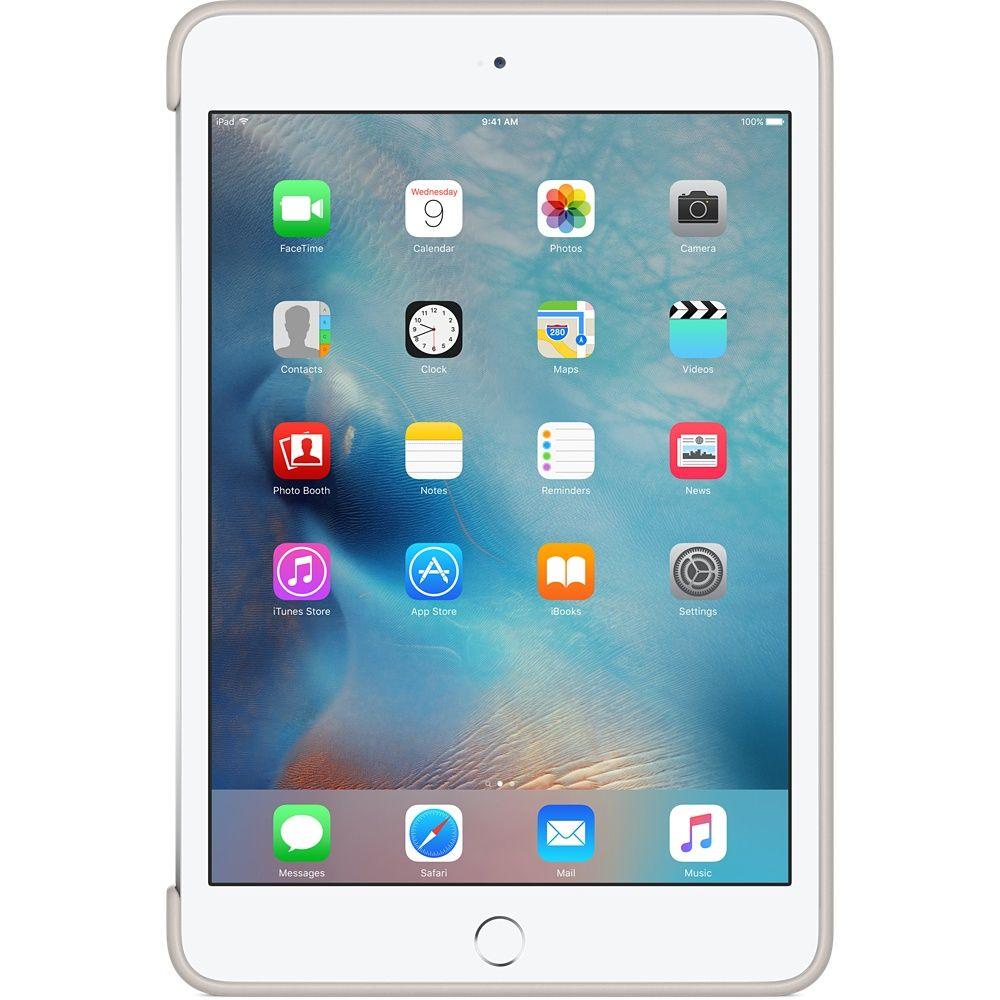 Descriere Husa APPLE Silicone Case pentru iPad Mini 4, White