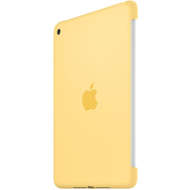 Descriere Husa APPLE Silicone Case pentru iPad mini 4, Yellow