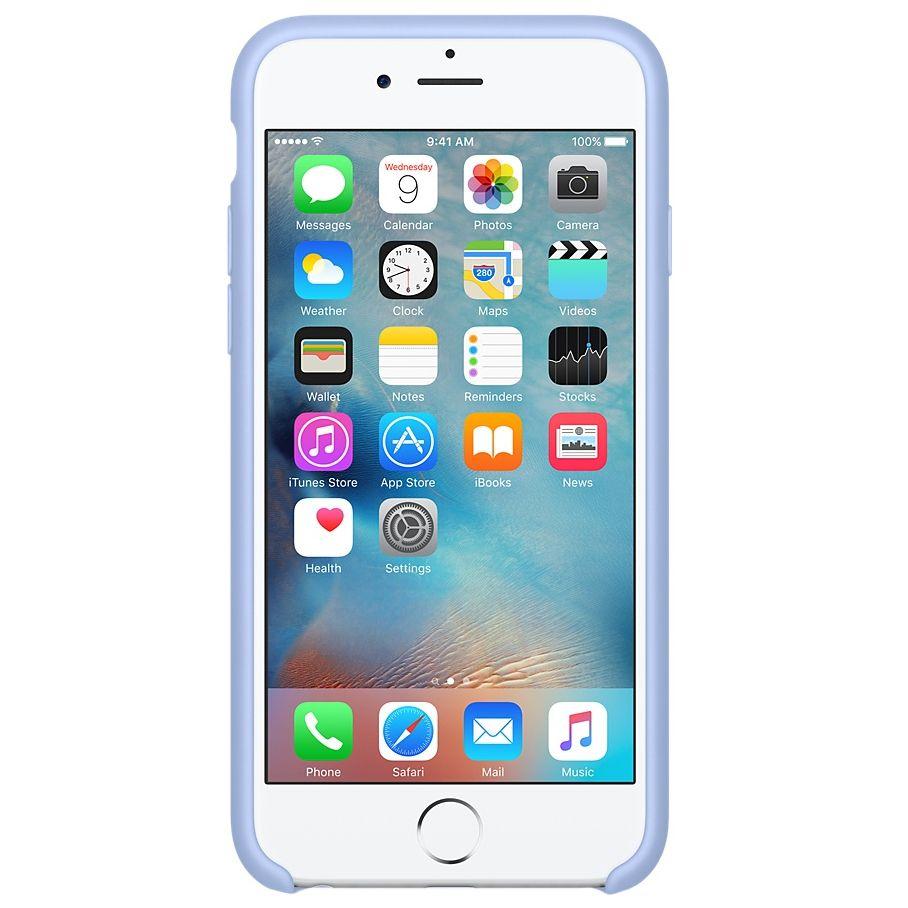 Descriere Husa de protectie APPLE pentru iPhone 6s, Silicon, Liliac