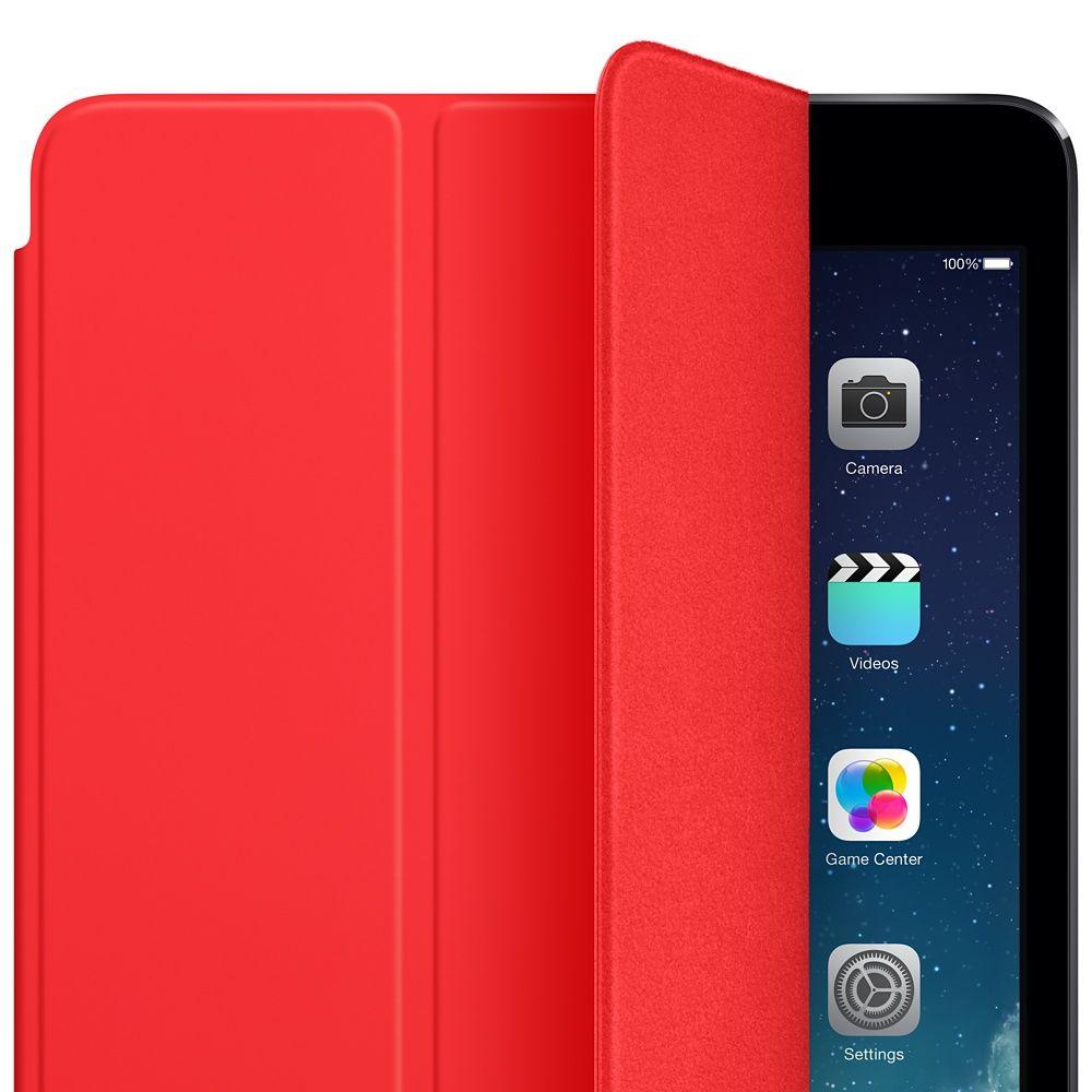 Descriere Husa APPLE Smart Cover pentru iPad Air, iPad Air 2, Red