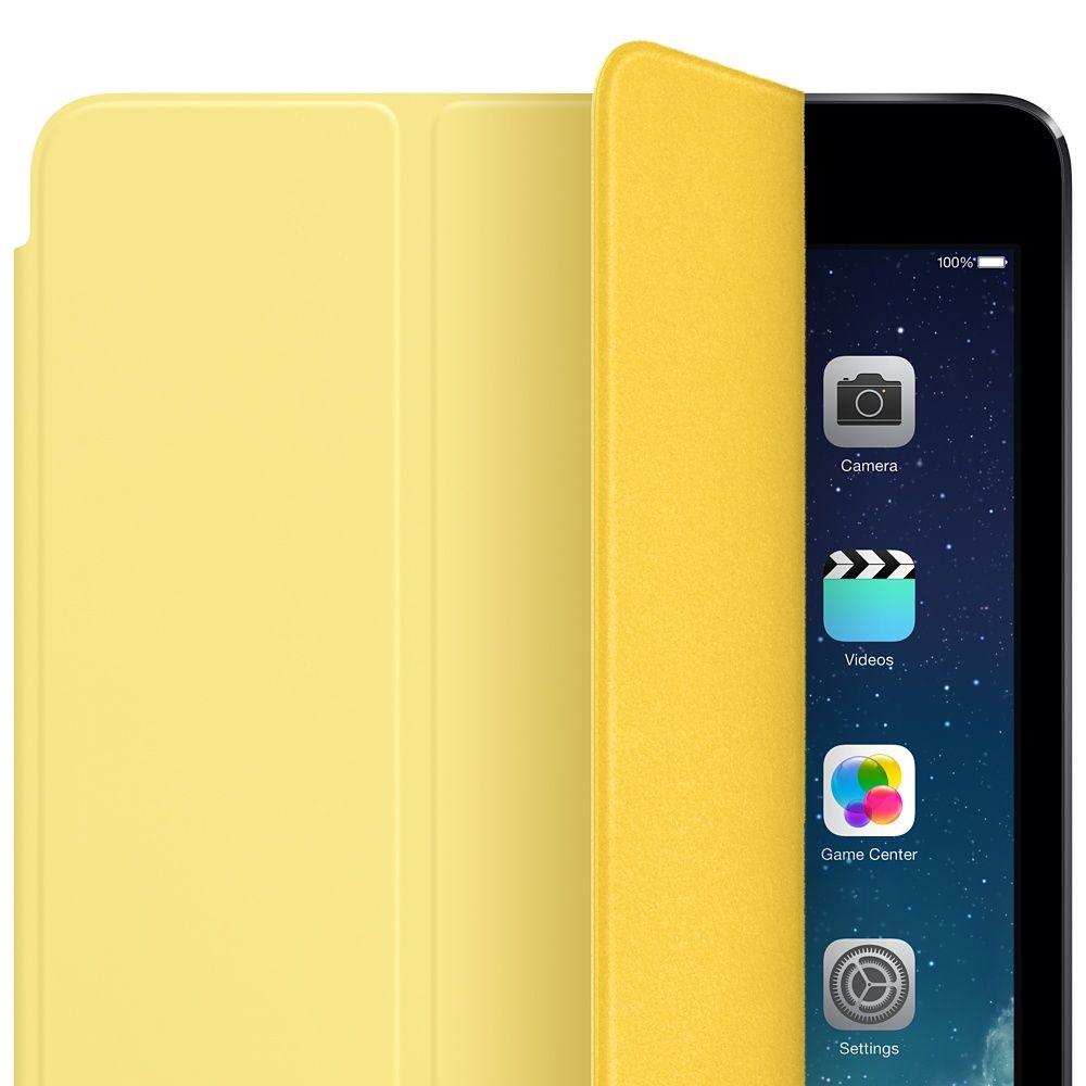 Descriere Husa APPLE Smart Cover pentru iPad Air, iPad Air 2, Yellow