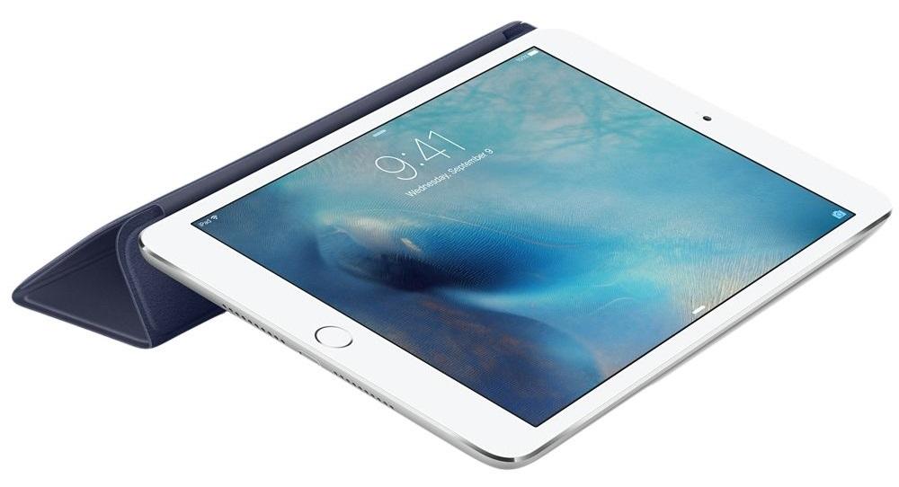Descriere Husa APPLE Smart Cover pentru iPad Mini 4, Midnight Blue