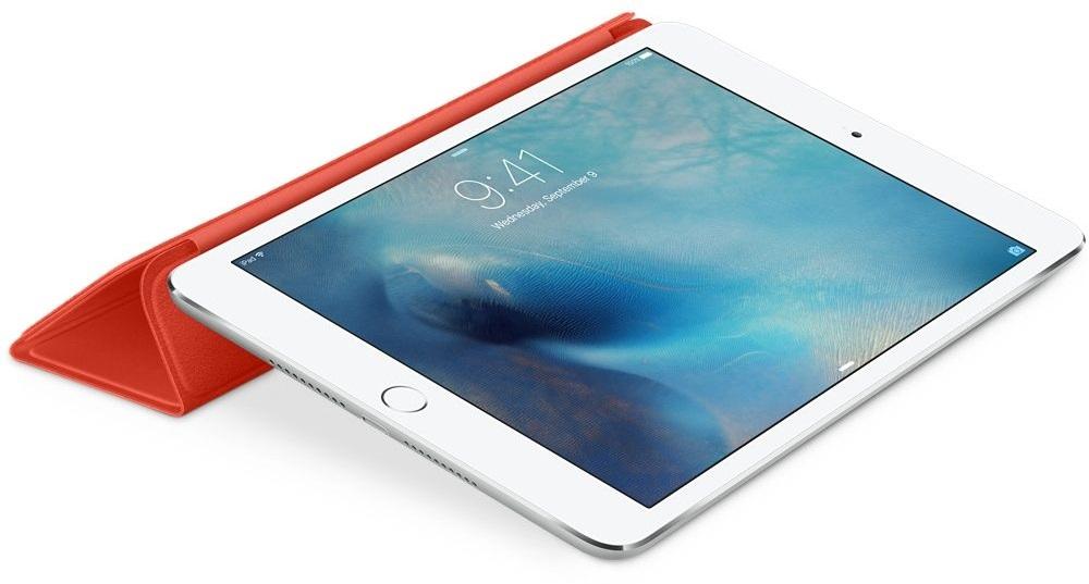 Descriere Husa APPLE Smart Cover pentru iPad Mini 4, Orange
