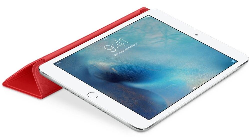 Descriere Husa APPLE Smart Cover pentru iPad Mini 4, Red