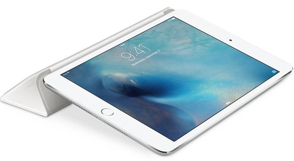 Descriere Husa APPLE Smart Cover pentru iPad Mini 4, White