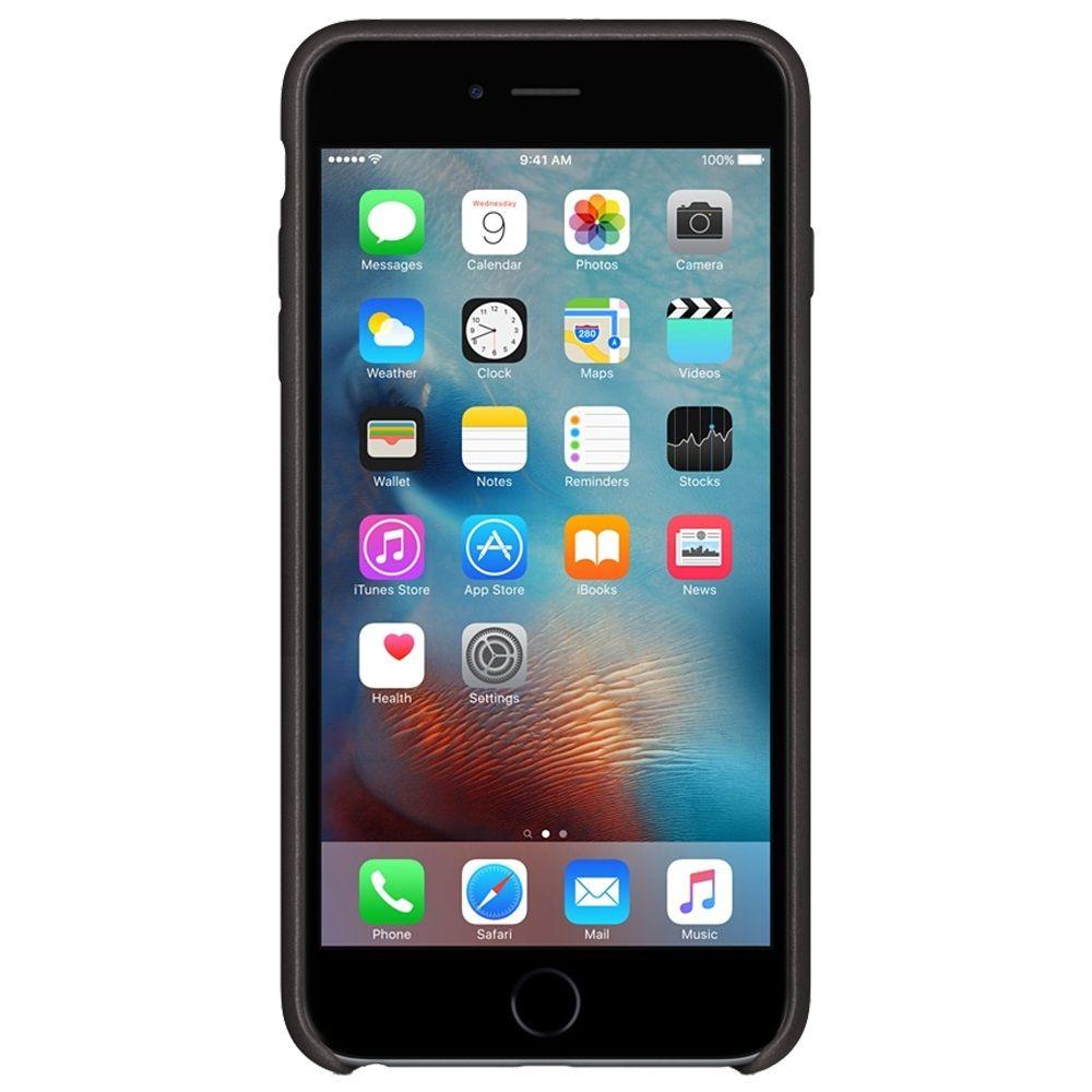 Descriere Husa de protectie APPLE pentru iPhone 6s, Piele, Black