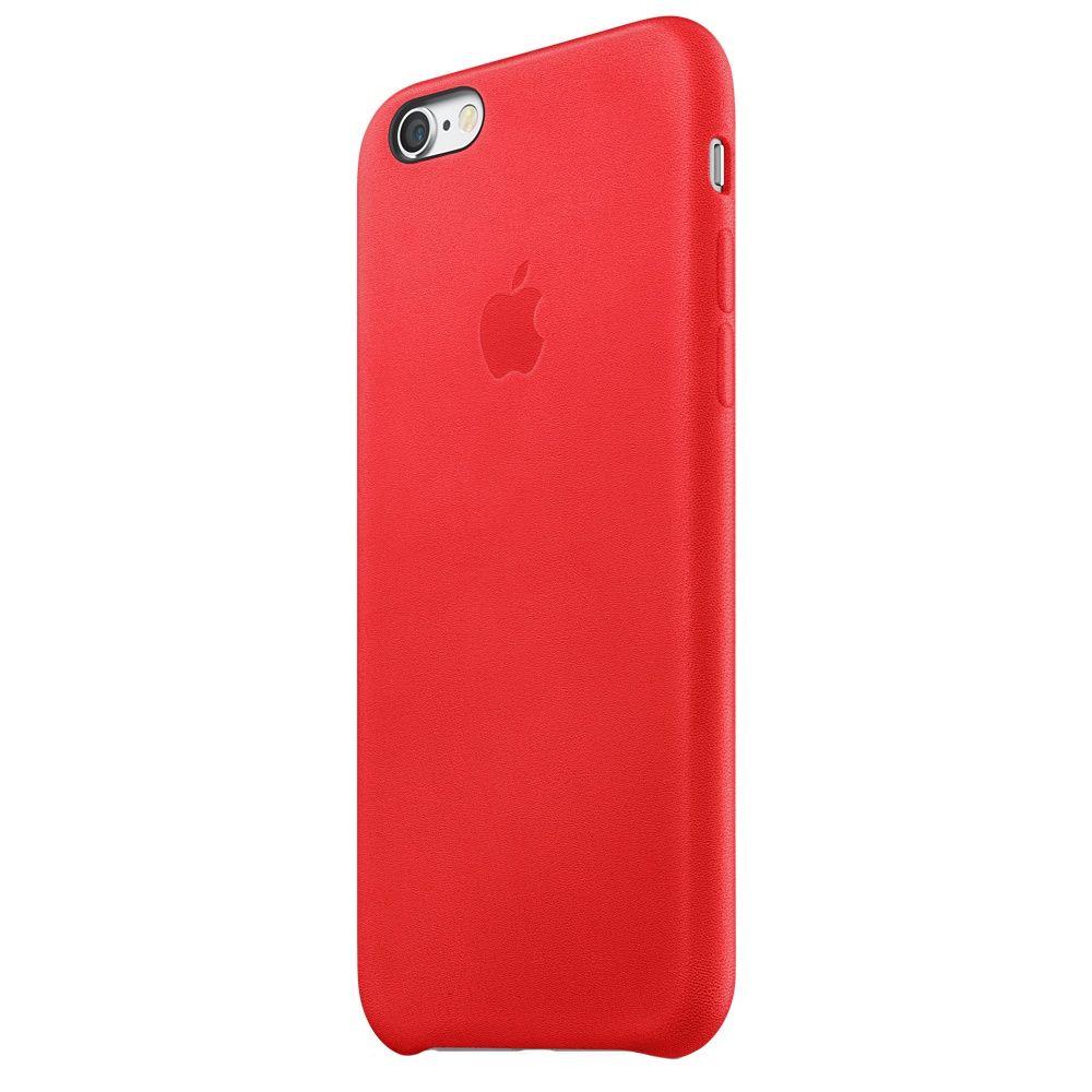 Descriere Husa de protectie APPLE pentru iPhone 6s, Piele, Red