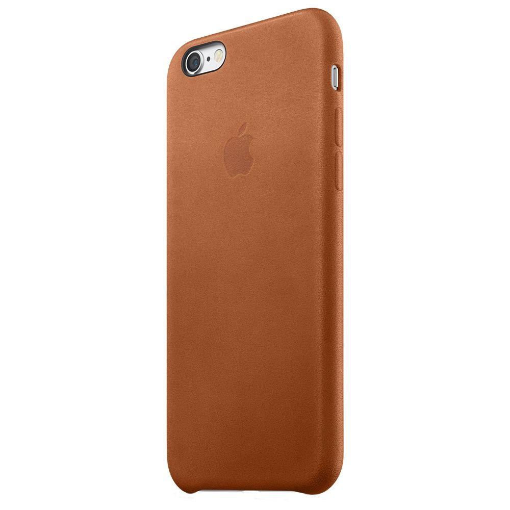 Descriere Husa de protectie APPLE pentru iPhone 6s, Piele, Saddle Brown