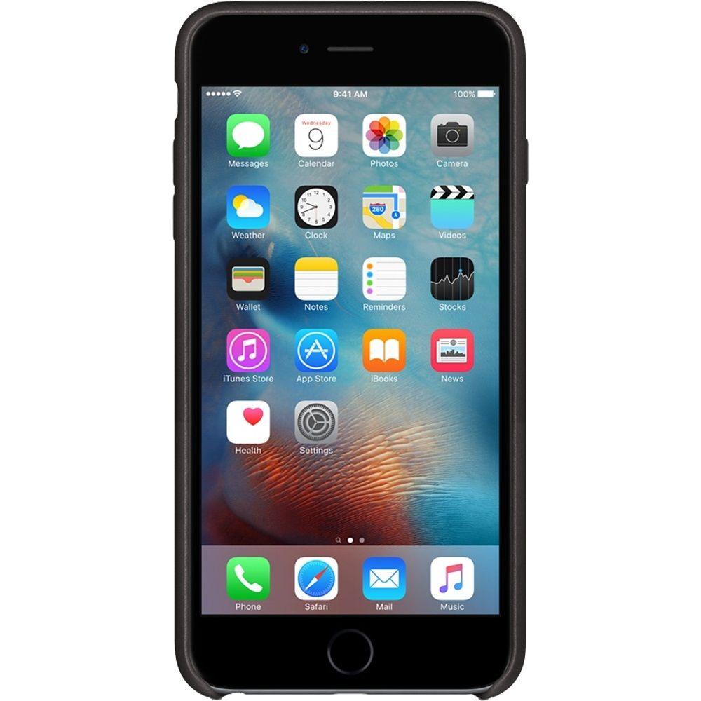 Descriere Husa de protectie APPLE pentru iPhone 6s Plus, Piele, Black