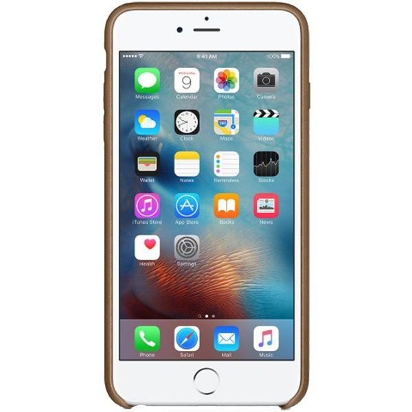 Descriere Husa de protectie APPLE pentru iPhone 6s Plus, Piele, Brown