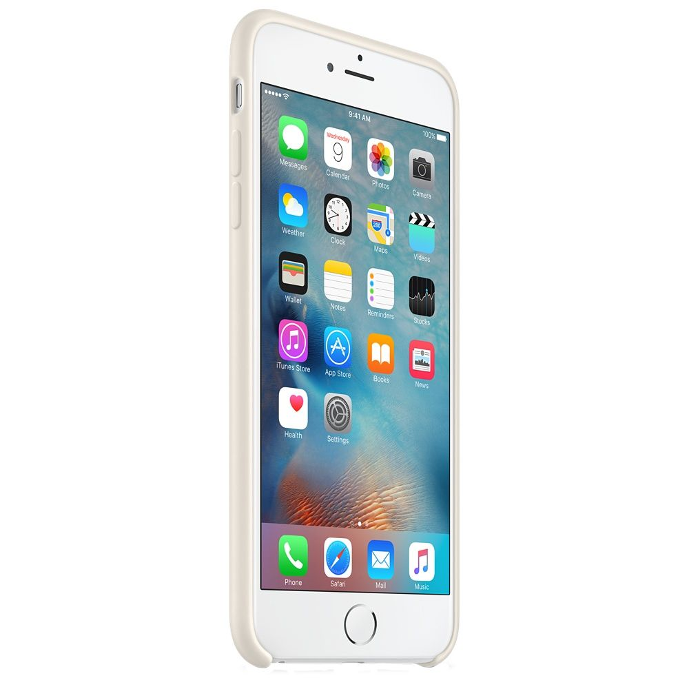 Descriere Husa de protectie APPLE pentru iPhone 6s Plus, Silicon, Antique White
