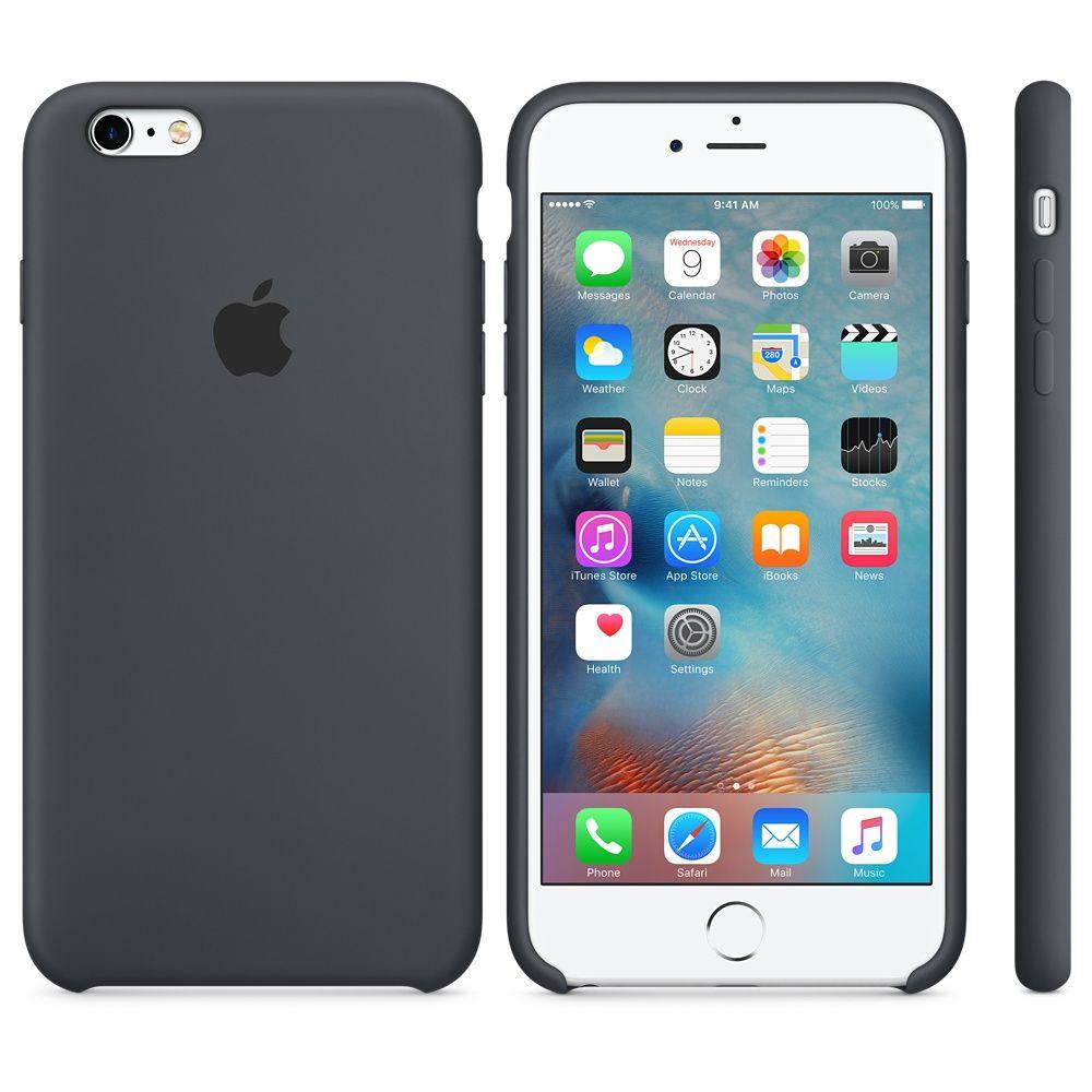 Descriere Husa de protectie APPLE pentru iPhone 6s Plus, Silicon, Charcoal Gray