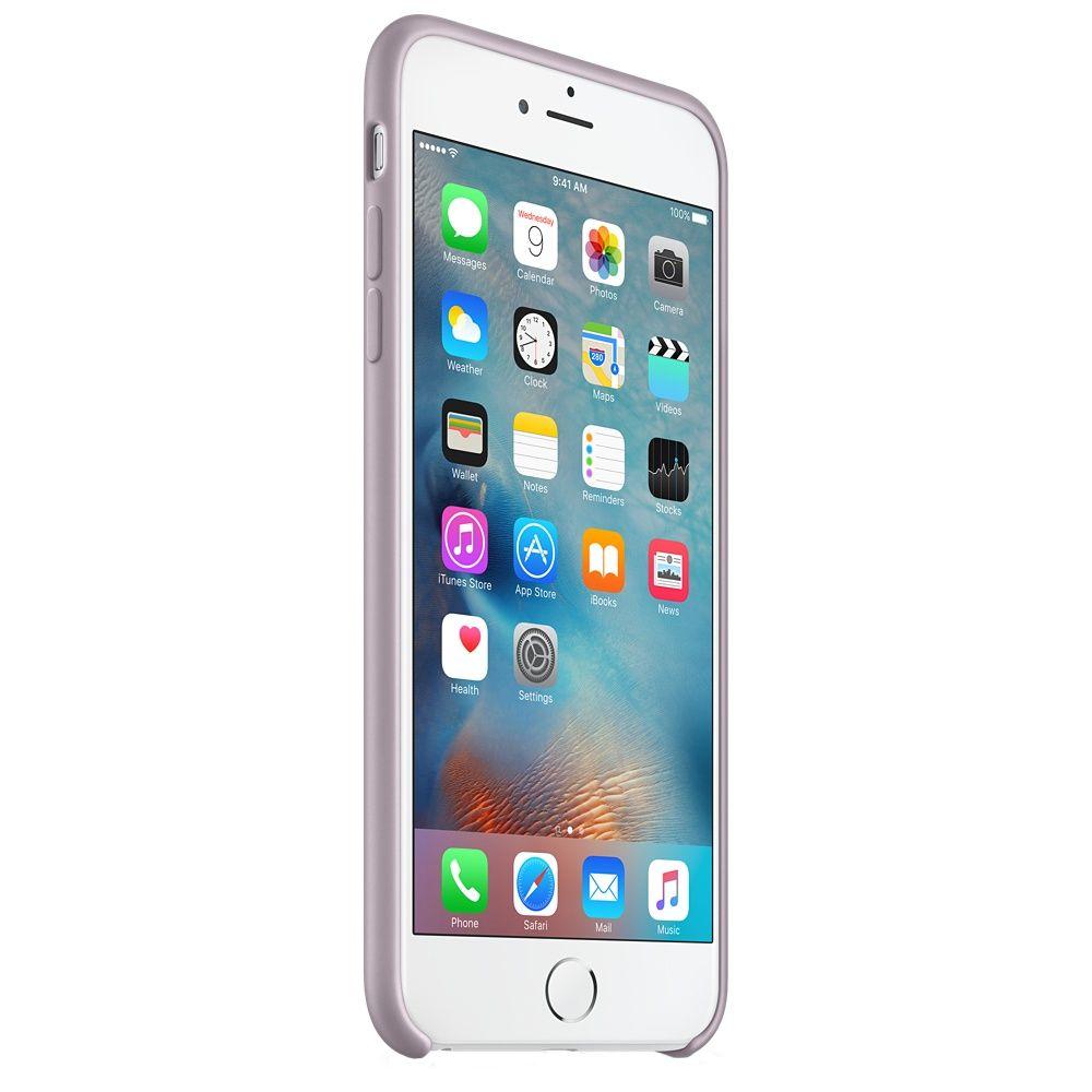 Descriere Husa de protectie APPLE pentru iPhone 6s Plus, Silicon, Lavender
