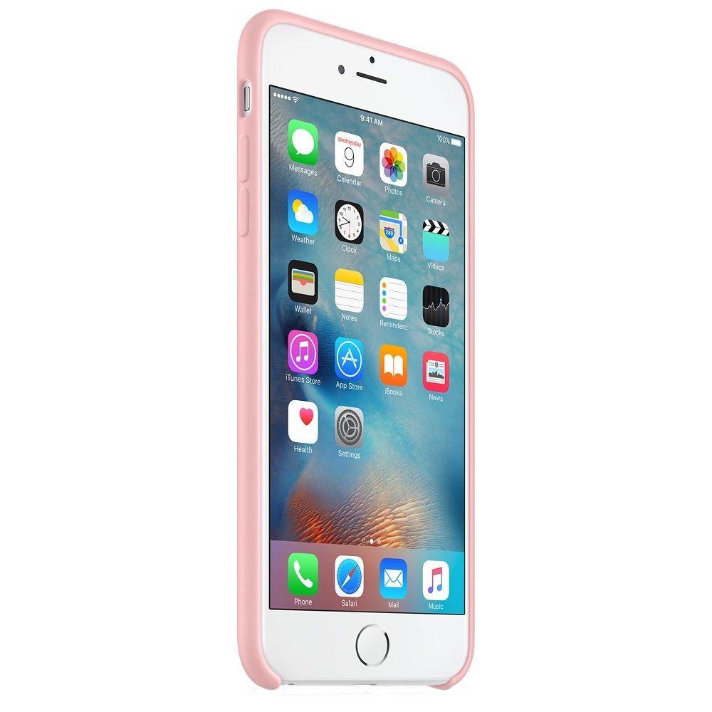 Descriere Husa de protectie APPLE pentru iPhone 6s Plus, Silicon, Pink