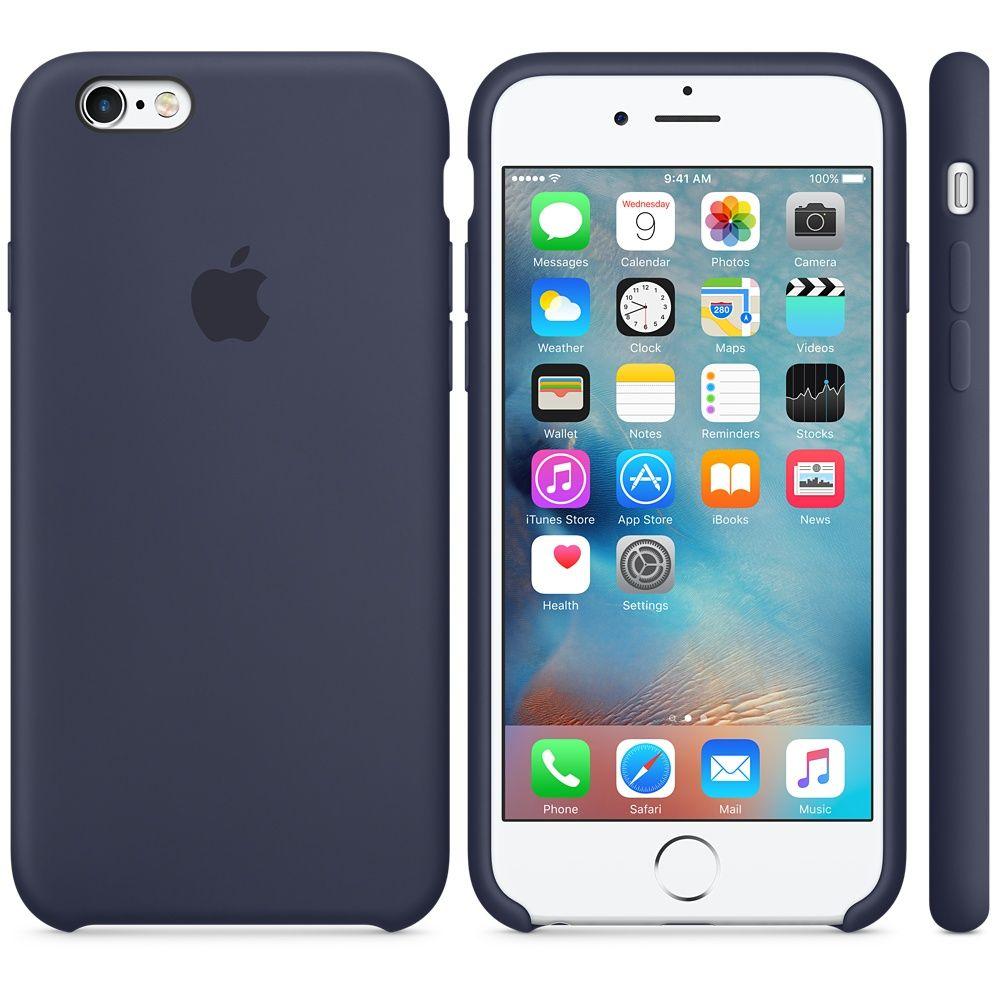 Descriere Husa de protectie APPLE pentru iPhone 6s, Silicon, Midnight Blue